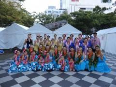 ハワイアンフラ ・   ダンス コンペ集合写真