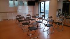 六本木 レンタルスタジオ パイプ椅子